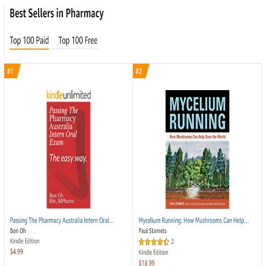 'Passing The Pharmacy Australia Intern Oral Exam: The easy way.' Currently, the No. 1 Amazon Bestselling Book for Pharmacy